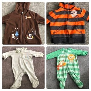 Other - Baby footie pajamas/sweaters